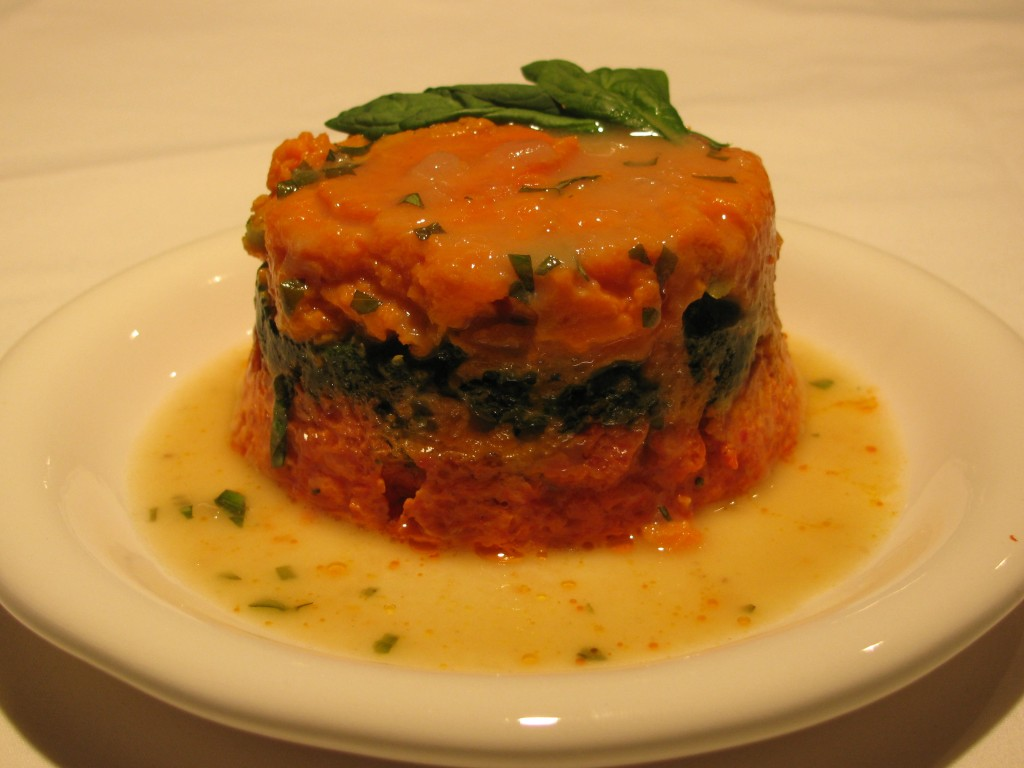 Vegetable Timbale