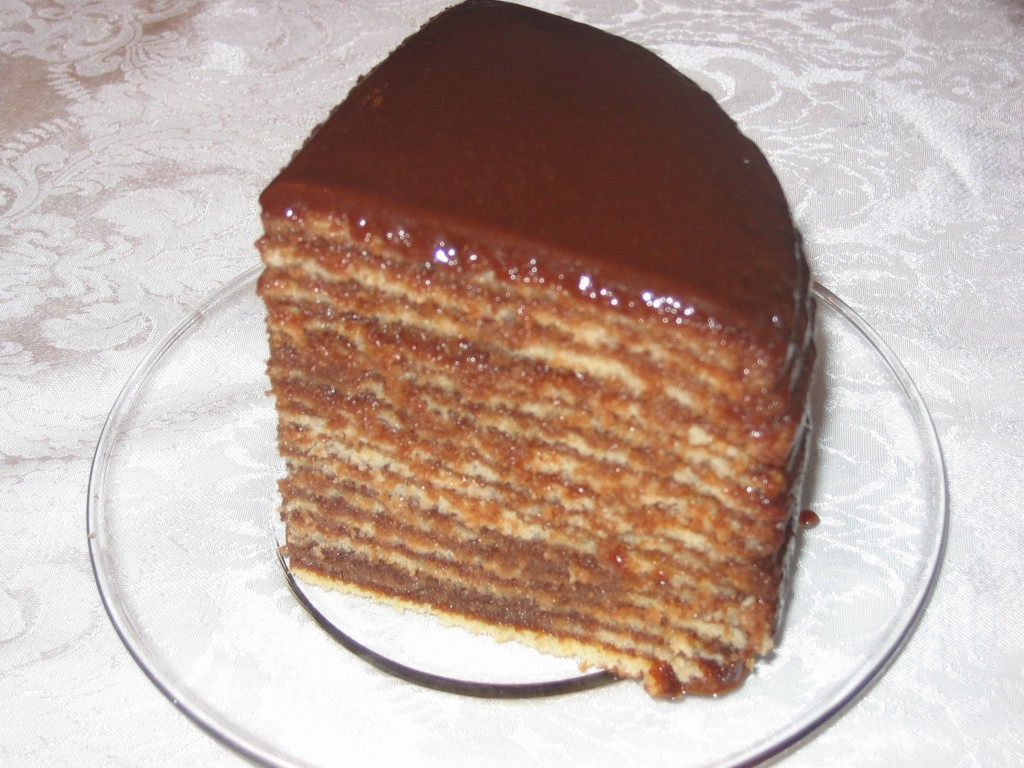 Sixteen Layer Cake….count 'em, at Darryl's, Owen's and others